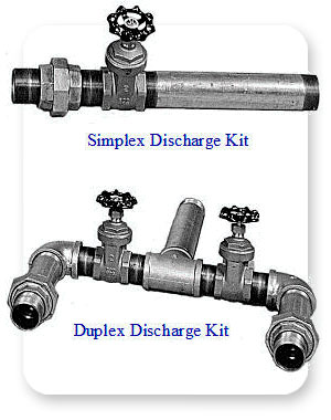 TOPP Discharge Kits