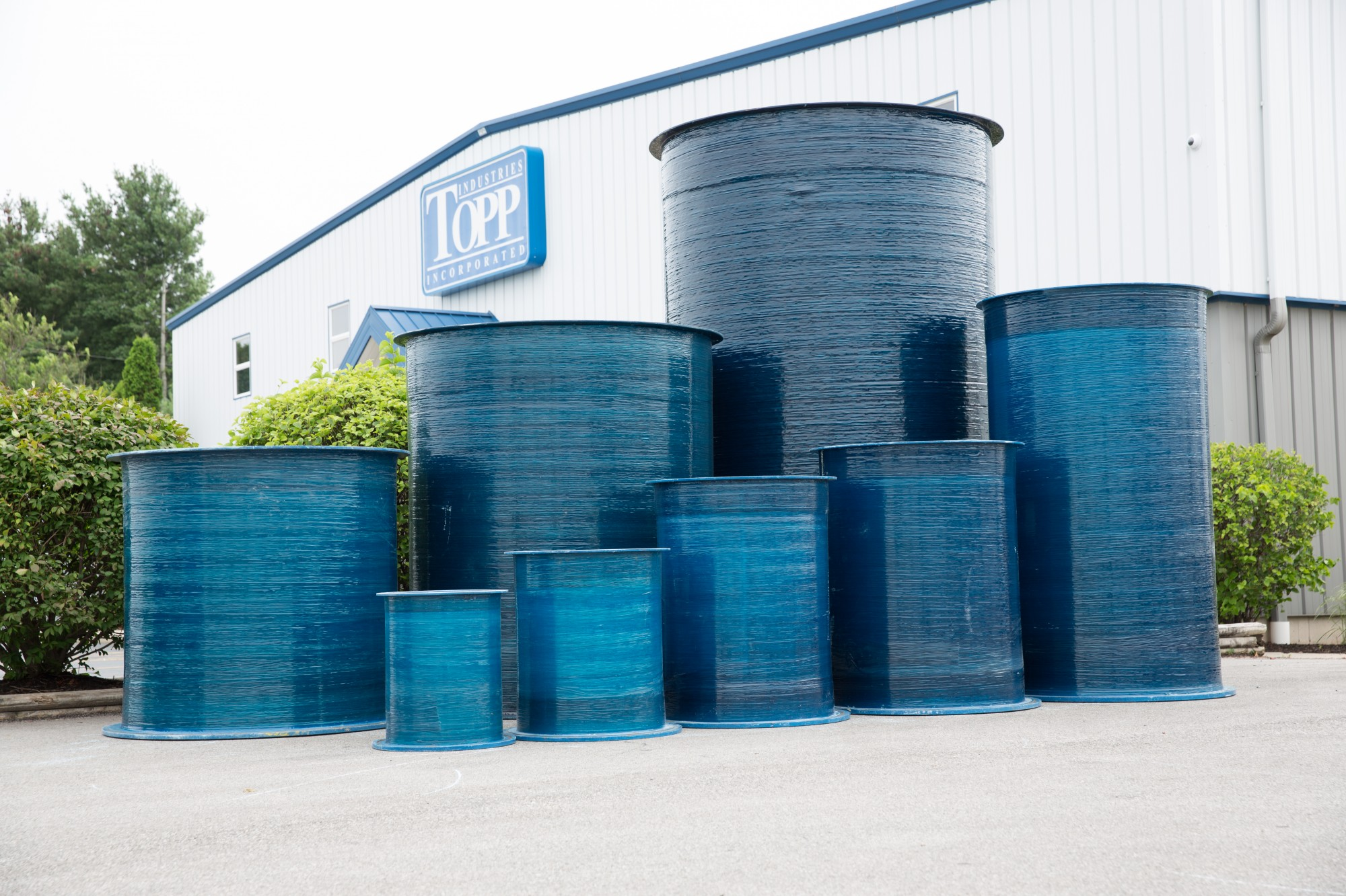 Fiberglass Basins, Covers and Accessories - TOPP Industries Inc