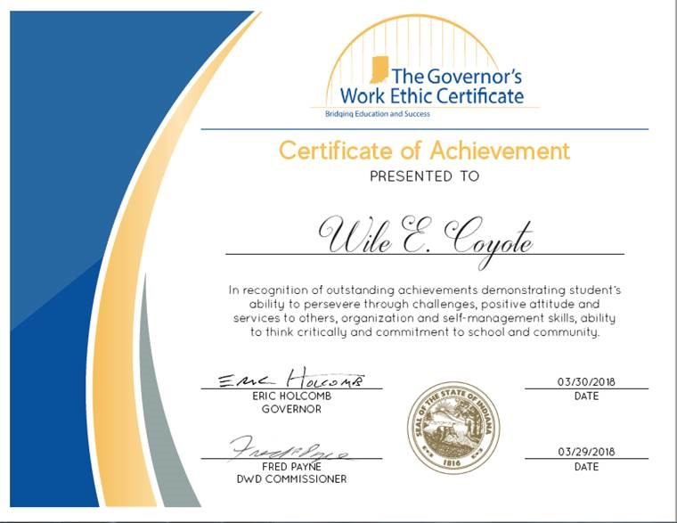 TOPP Industries Joins Governor's WorkEthic Certificate Initiative
